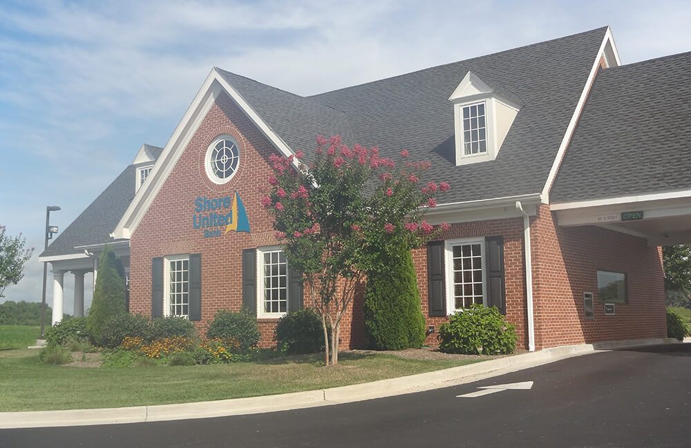 Exterior view of our branch in Ridgely/Hillsboro MD