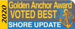2020 Golden Anchor Award logo