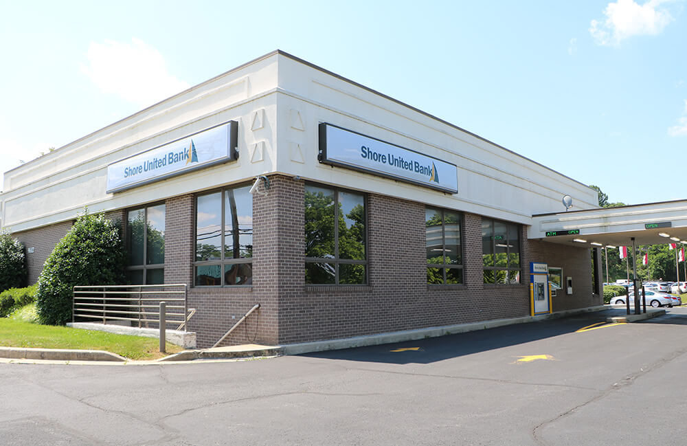 Exterior photo of our Owings Mills branch on Reisterstown Road