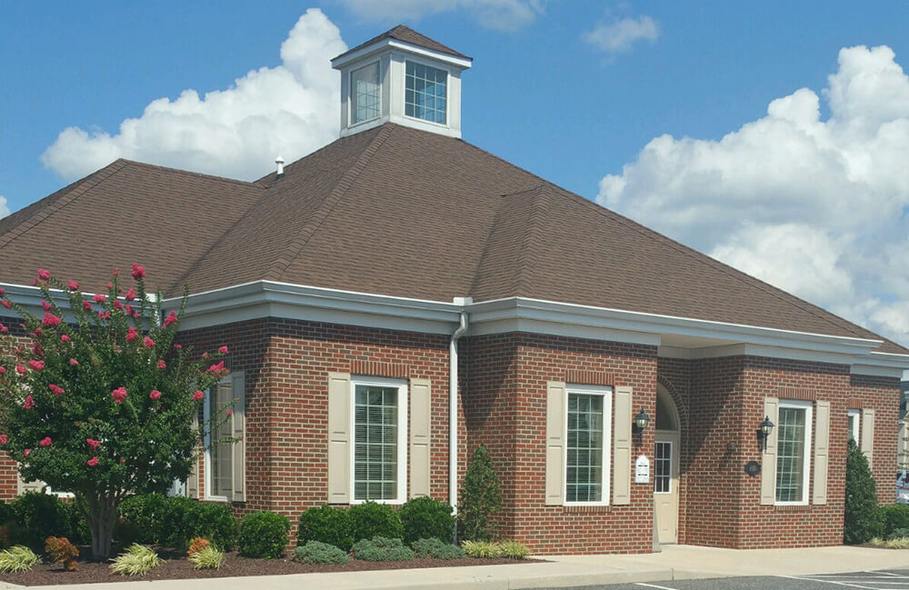 Exterior photo of our branch in Milford, DE