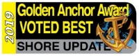 Golden Anchor Award Voted Best 2019 Shore Update