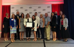 Misty Newnam graduates from Maryland Banking School