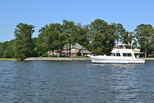 """Adagio"" - 2001 47' Grand Banks, Europa