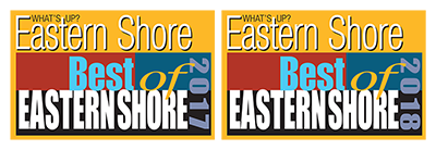 What's up magazine Best of Eastern Shore 2017 and 2018