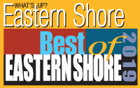 What's Up Eastern Shore's Best of Eastern Shore 2019 logo