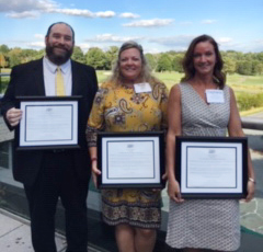 Lem Peters, Kerry Nagle and Stephanie Dulin graduate from Maryland Bankers Association's Emerging Leaders Program